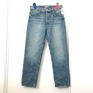 Mother The Tomcat Ankle Light Wash Jeans